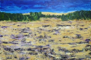 Lavender Fields Forever_ClaireSower_2015_24x30_Acryliconcanvas